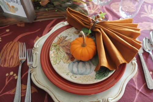 Setting a Table for Fall